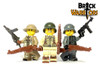 Custom Printed LEGO® Legs - German Infantry Legs