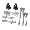 BrickWarriors Castle Executioner Minifigure Accessories