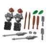BrickWarriors Two-Headed Ogre Minifigure Accessories