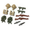 BrickWarriors WW2 British Flame Trooper Minifigure Accessories