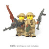 BrickWarriors WW2 British Infantry Minifigure Accesssories