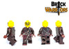 Custom LEGO® Minifigure - Human Assassin Custom Printing Views