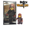Custom LEGO® Minifigure - Female Elf Warrior Collector Card