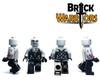 Custom LEGO® Minifigure - Female Vampire Custom Printing Views