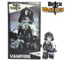 Custom LEGO® Minifigure - Female Vampire Collector Card