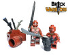 Custom LEGO® Minifigure - Fon Warrior
