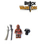 Custom LEGO® Minifigure - Fon Warrior Pack Contents