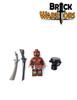 Custom LEGO® Minifigure - Fon Warrior Pack Contents