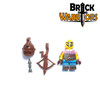 Custom LEGO® Minifigure - Gnomish Inventor Pack Contents