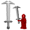 Minifigure Weapon - Orc Greatsword