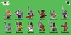 Warrior Pack Characters