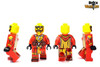 Custom LEGO® Minifigure - Evil Wizard Printing Views