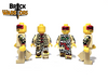 Custom LEGO® Minifigure - Jaguar Warrior Printing Views
