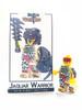 Custom LEGO® Minifigure - Jaguar Warrior Collector Card