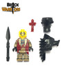 Custom LEGO® Minifigure - Indian Shaman Weapons