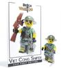 Custom LEGO® Minifigure - Viet Cong Sniper Collectors Card