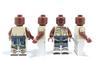 Custom LEGO® Minifigure - Idi Amin Printing