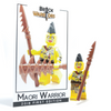 Custom LEGO® Minifigure - Maori Warrior Collector Card