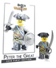 Custom LEGO® Minifigure - Peter the Great Collector Card