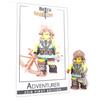 Custom LEGO® Minifigure - Adventurer Collector Card