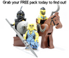 Custom Lego Minifigure Starter Pack Options