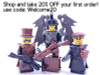 Custom Lego Minifigure Warrior Pack