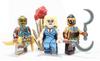 Custom LEGO® Minifigure - Sand Princess - Skin Toned