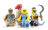 Custom LEGO® Minifigure - Sand Princess - Traditional Yellow