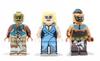 Custom LEGO® Minifigure - Sand Assassin - Skin Toned