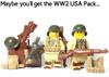 Custom Lego Minifigure Starter Pack Options
