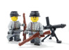 Minifigure Custom Legs - Confederate Soldier