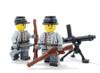 Minifigure Custom Legs - Confederate Soldier