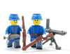 Minifigure Custom Torso -Union Soldier