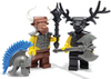 Custom LEGO® Head - Minotaur Head