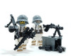 Custom Printed Minifigure Torso - German Snow Gunner Torso