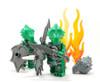 Custom LEGO® Minifigure - Green Dragon