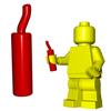 Minifigure Explosive - Dynamite