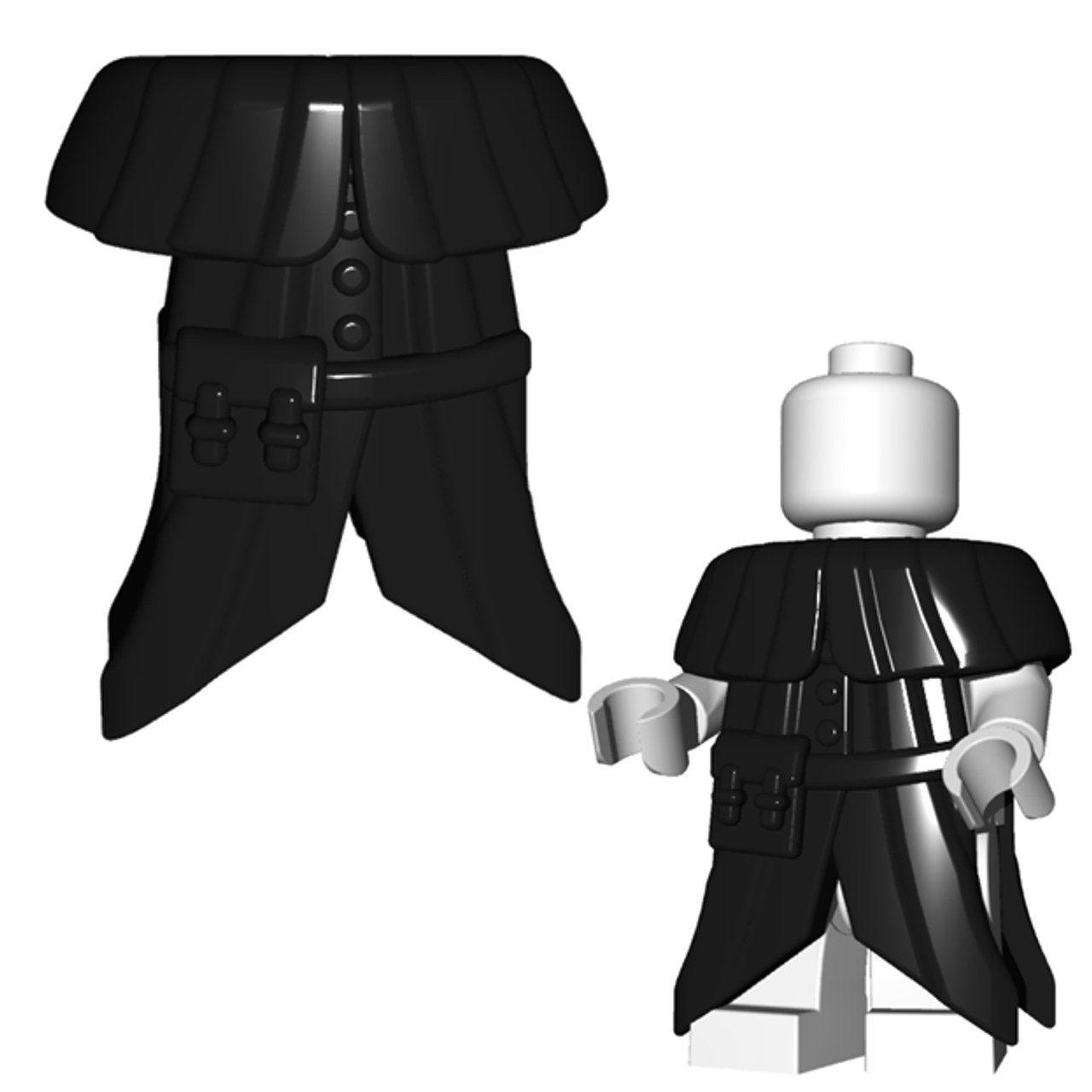 Plague Doctor Coat Brickwarriors