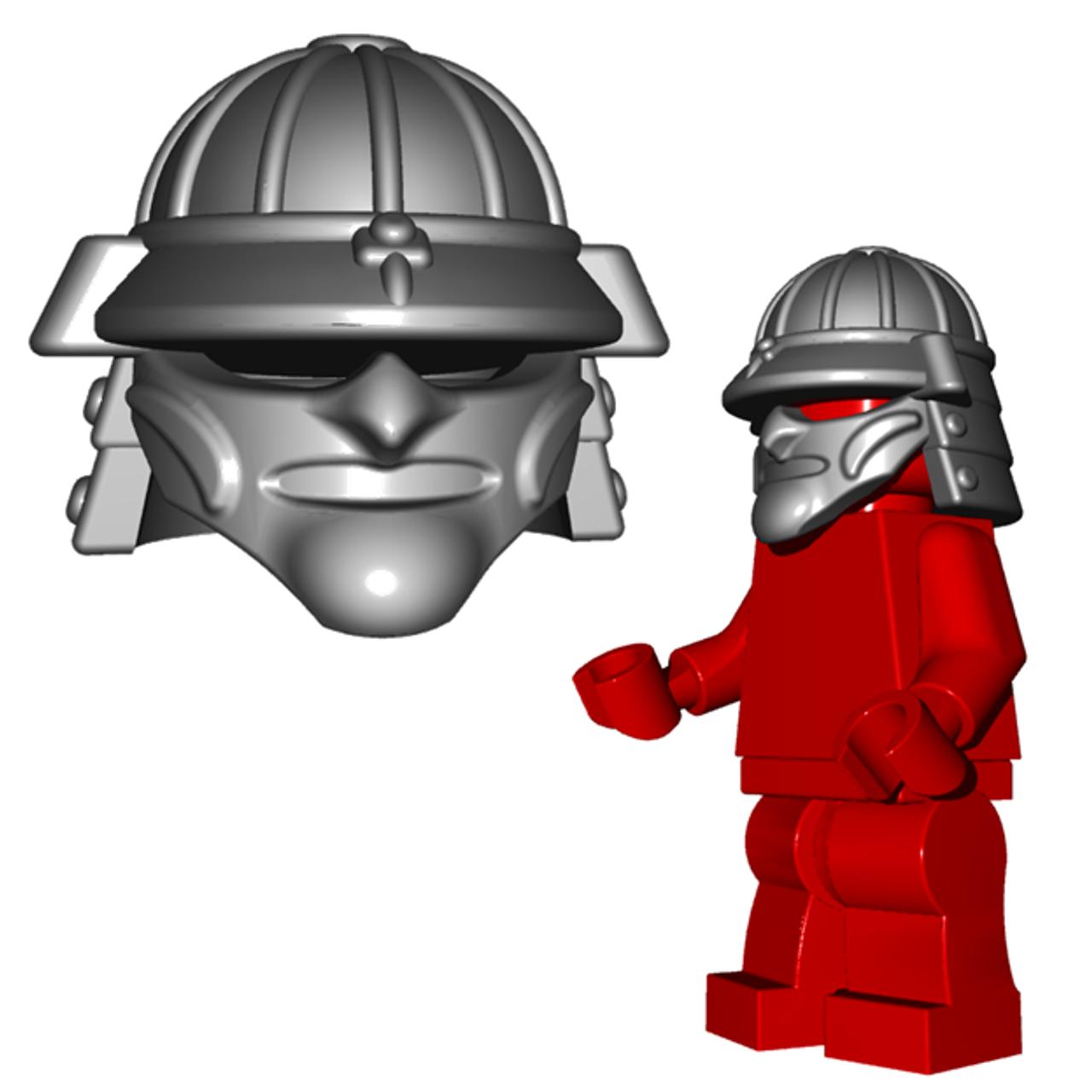 Minifigure Helmet Samurai Helmet