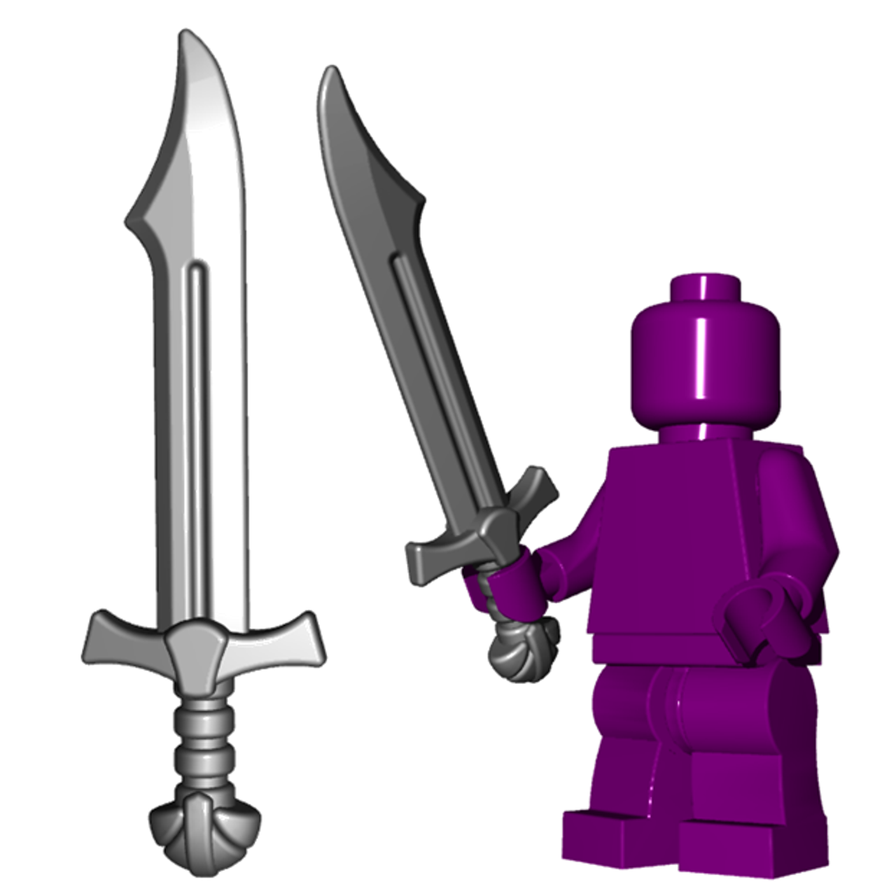 Arming sword for Lego Minifigures accessories