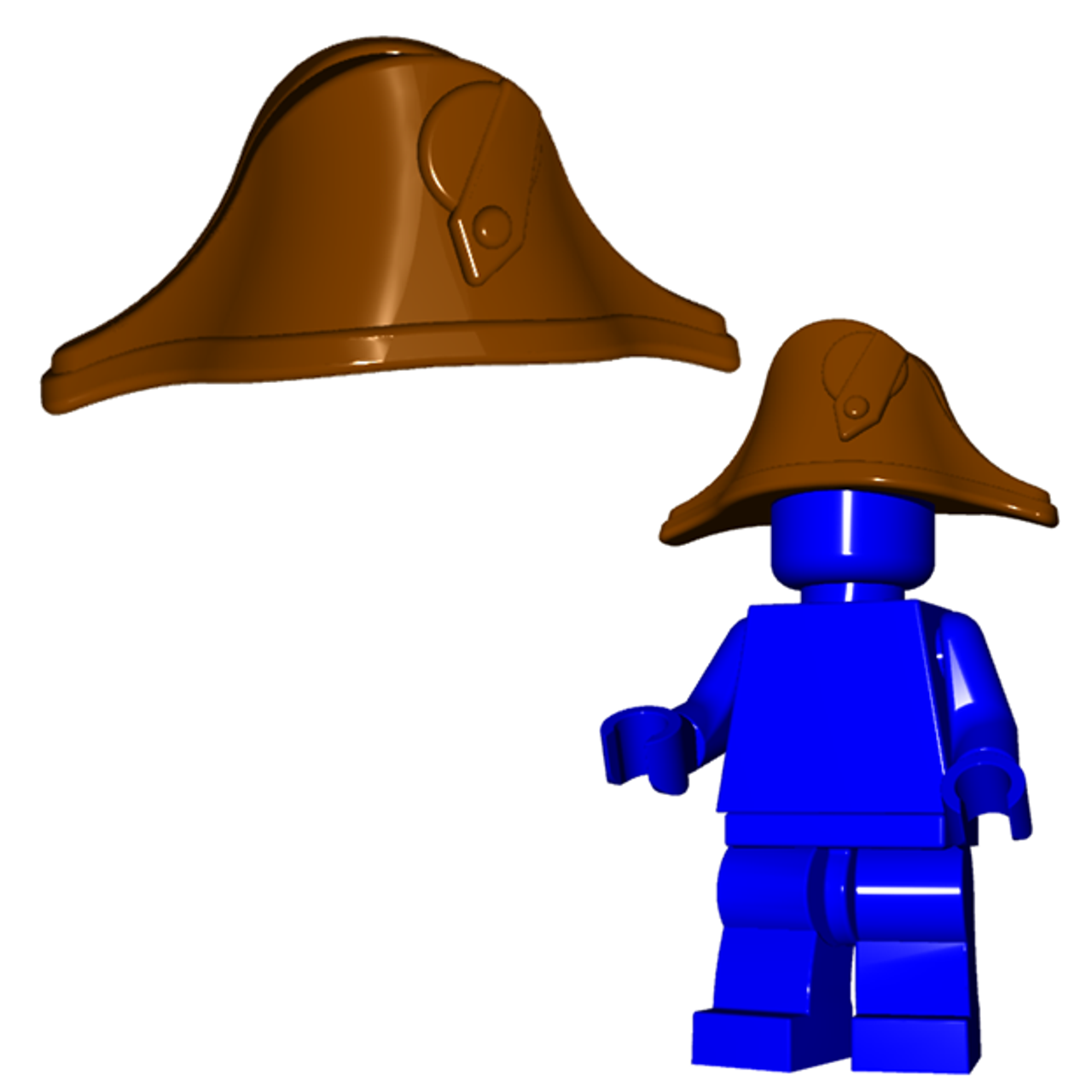 LEGO Musketeer Minifig Headgear Hat Black