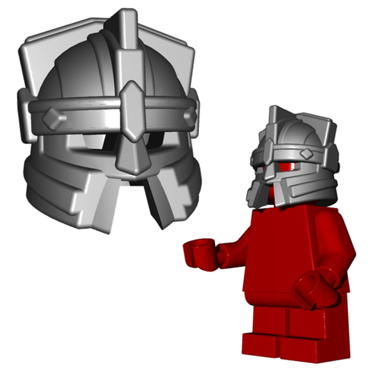 HEADGEAR Lego Viking Helmet w//horns Metallic Gold  NEW Pirate//Castle