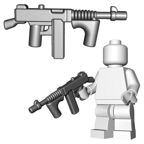 Minifigure Gun - Gangster SMG