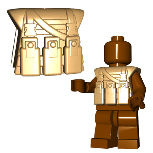 Minifigure Armor - Military Vest