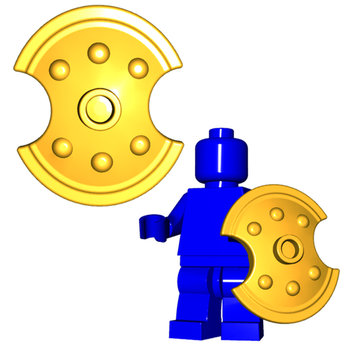 Minifigure Shield - Trojan Shield