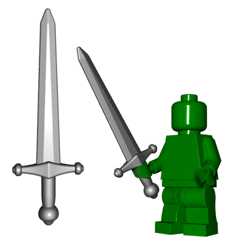 Minifigure Weapon - Greatsword