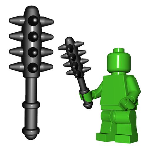 Minifigure Weapon - Spiked Mace
