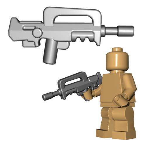 Minifigure Gun - French Assault Rifle