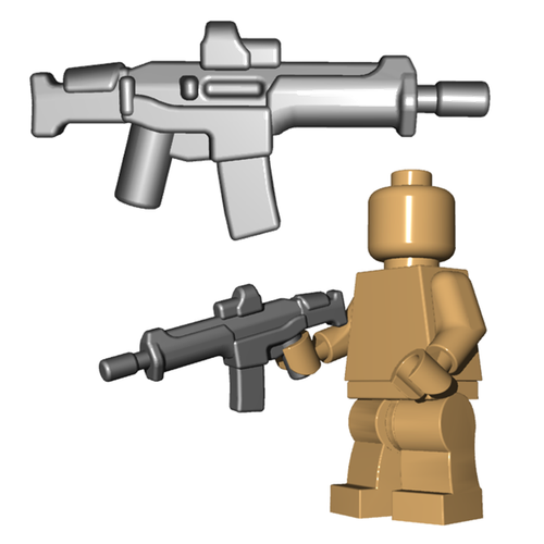 Minifigure Gun - Adaptive Warrior Rifle