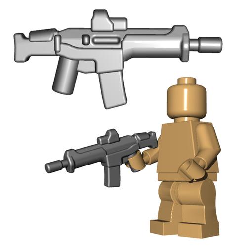 Minifigure Gun - Adaptive Warrior Rifle